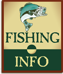 Fishing information on bass, walleye, muskie, pike and other fresh water fish.